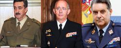 Dominguez Buj, Muñoz Delgado y García Arnaiz. | Mde.es