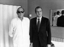 Don Juan de Borbón y su hijo, Don Juan Carlos | Efe