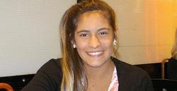 La gimnasta Eduarda Mello. | nanduti.com