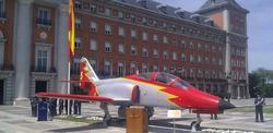 Monumento del caza C101 inaugurado en Madrid. | Libertad Digital