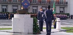 Homenaje a los que dieron su vida por España. | LD