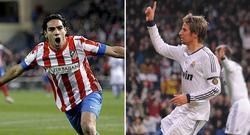 Radamel Falcao y Fabio Coentrao. | Archivo