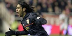 Falcao celebra el único tanto del partido. | EFE