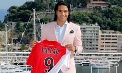 Radamel Falcao, durante su presentación con el Mónaco. | Archivo
