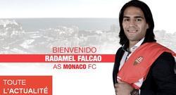 El Mónaco confirma el fichaje de Radamel Falcao. | Foto: AS Mónaco