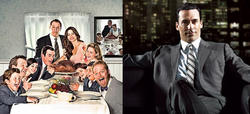 Modern Family y Mad Men