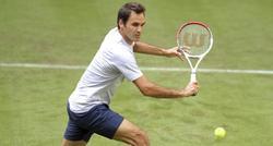 Roger Federer, durante el torneo de Halle. | EFE