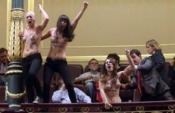 Las activistas de Femen | Archivo