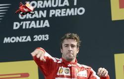 Fernando Alonso está satisfecho con el resultado del GP de Italia.   EFE