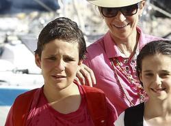 Froilán y su madre, en Mallorca | Archivo