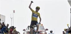 Christopher Froome gana la etapa.   EFE