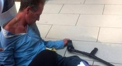 Paul Gascoigne, tirado en plena calle. | The Sun