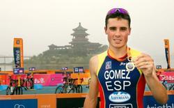 El triatleta español Javier Gómez Noya.