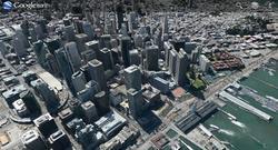 Imagen de una ciudad 3D