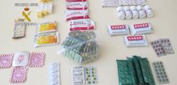 Medicamentos ilegales incautados. | Guardia Civil