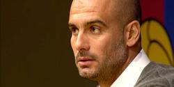 Pep Guardiola, en rueda de prensa. | EFE