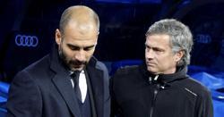 Guardiola y Mourinho, en el clásico jugado hace un año en el Bernabéu. | Cordon Press/Archivo