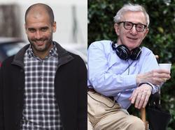 Guardiola y Woody Allen