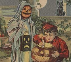 Postal de Halloween | Corbis