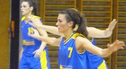 Helena Boada, jugando en Eslovenia. | Facebook