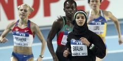 Woroud Sawalha, doblada en los 800 m de Estambul. | EFE