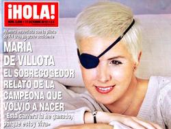 La piloto María de Villota