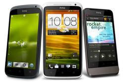 De izquierda a derecha, los HTC One S, X y V. | HTC