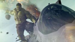 Hulk hace de las suyas en Los Vengadores