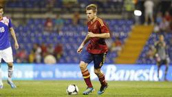 Asier Illarramendi, durante un partido con la selección española sub'21. | Cordon Press