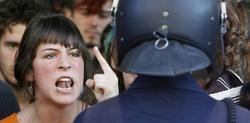 Imagen de archivo de una de las manifestaciones del 15-M