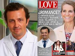 El doctor Ángel Villamor, a la portada de Love