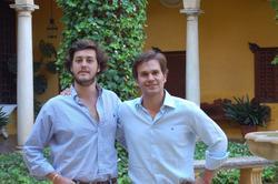 Borja Casans e Íñigo de Arteaga