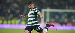 Emiliano Insúa, cuando jugaba en el Sporting de Lisboa. | Cordon Press