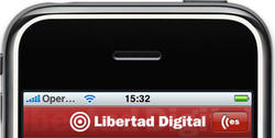 Aplicación de Libertad Digital para iPhone. | LD