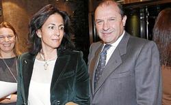 Isabel Borrego y Vicente Martínez Pujalte    Foto: La Razón
