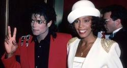 Michael Jackson y Whitney Houston | Archivo