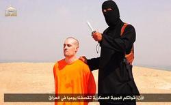 Fotograma del vídeo en el que se decapita al periodista James Foley.