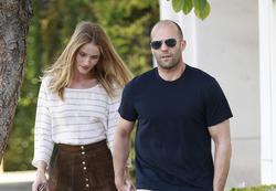 Jason Statham y su novia Rosie Huntington | Cordon Press