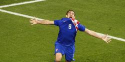 Nikica Jelavic celebra su gol ante Irlanda. | EFE
