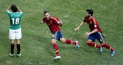 Jesé celebra su gol ante México. | EFE