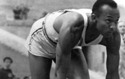 Jesse Owens, durante los Juegos Olímpicos de Berlín   Cordon Press