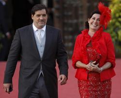 Carmen Martínez Bordiú y José Campos.