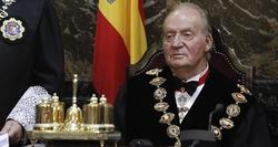 El Rey, Don Juan Carlos, durante la ceremonia de apertura del año judicial | EFE