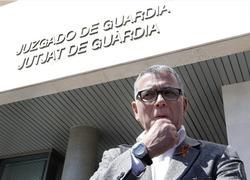 Juan Ramón Lucas, a su salida del juzgado | Efe