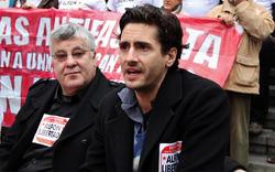 El actor, en una manifestación celebrada el 14 de diciembre | Cordon Press