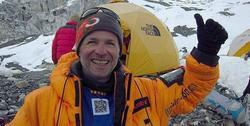 Fotografía del blog del alpinista leridano Juanjo Garra, que ha fallecido en la cima del Dhaulagiri (Himalaya)