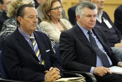 Muñoz y Roca, durante el juicio. EFE