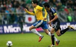 Kaká, durante el partido contra Japón | EFE