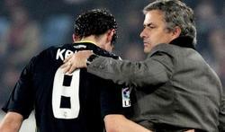 Kaká y Mourinho. | Archivo