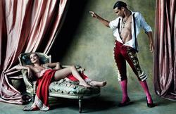 Kate Moss y Jose Mari Manzanares